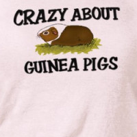 Crazy About Guinea Pigs T-shirt