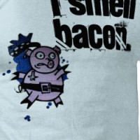 I SMELL BACON T-shirt