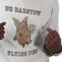 UC Barstow Flying Pigs Shirt T-shirt